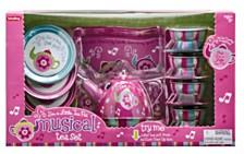 Schylling Musical Tin Tea Set