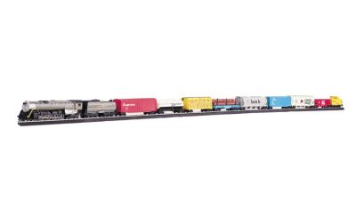 Bachmann Trains Overland Limited Ho Scale Ready To Run Electric Train Set
