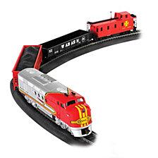 Bachmann Trains Santa Fe Flyer Ho Scale Ready To Run Electric Train Set