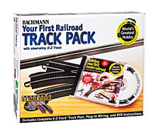 Bachmann Trains E Z Track Deluxe Track Pack Ho Scale