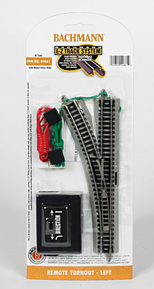 Bachmann Trains Remote Turnout Left 1 Card N Scale