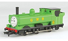 Thomas And Friends Duck Locomotive With Moving Eyes Ho Scale Train