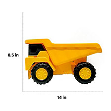 Boley 2 Piece 18 Inch Construction Vehicles Dump Truck And Bulldozer