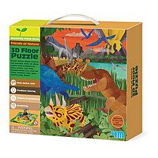 4M Friends Of Nature 3D Dinosaur Floor Puzzle 54 Piece