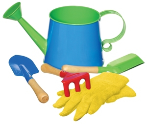 Kids Watering Can Garden Kit