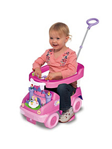 Kiddieland Disney Princess 4 In 1 Rock N Ride Activity Ride On