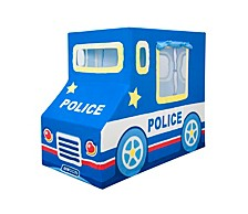 Police Car Indoor Canvas Playhouse Play Tent For Kids