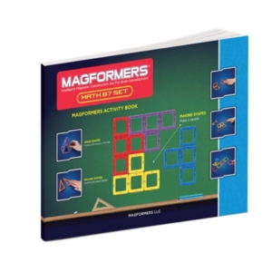 Magformers Math 87 Piece Magnetic Construction Set