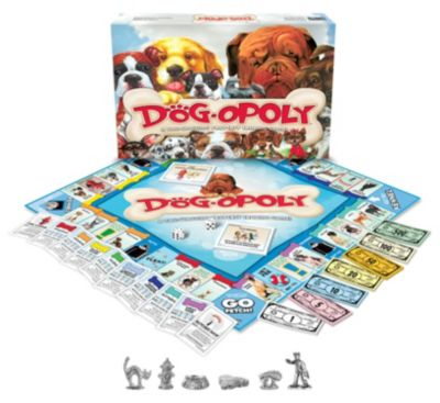 Late for the Sky Dog-Opoly Game