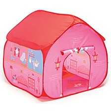 Pop It Up Dollhouse Tent With House Playmat