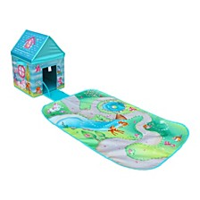 Pop It Up Enchanted Forest Combo Set Play Box With Play Mat And Coloring Set