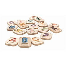 Plantoys Braille Alphabet A To Z Learning Set