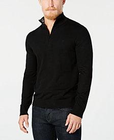 Calvin Klein Men's Quarter-Zip Sweater