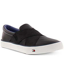 Tommy Hilfiger Big Boys Slip On Sneakers