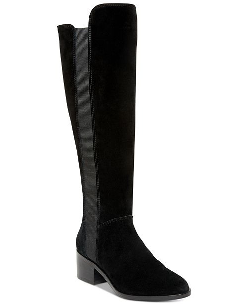 0cc46117409 Steve Madden Women s Giselle Riding Boots   Reviews - Boots - Shoes ...