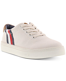 Tommy Hilfiger Little & Big Boys Stripe Logo Sneakers