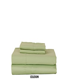 310 TC Solid Sateen King Sheet Set
