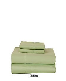 310 TC Solid Sateen King Sheet Set