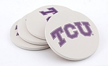 Texas Christian University Coasters, Set of 4
