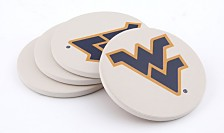 West Virginia University Thirstystone Coasters, Set of 4