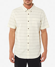 Jack O'Neill Men's Oxford Yarn Dyed Tampico Striped Shirt