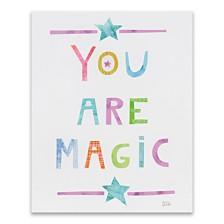 Unicorn Magic V Printed Canvas