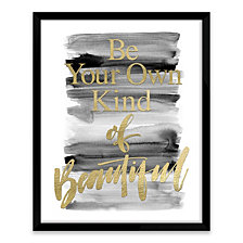 Be Your Own Kind Of Beautiful Shadowbox