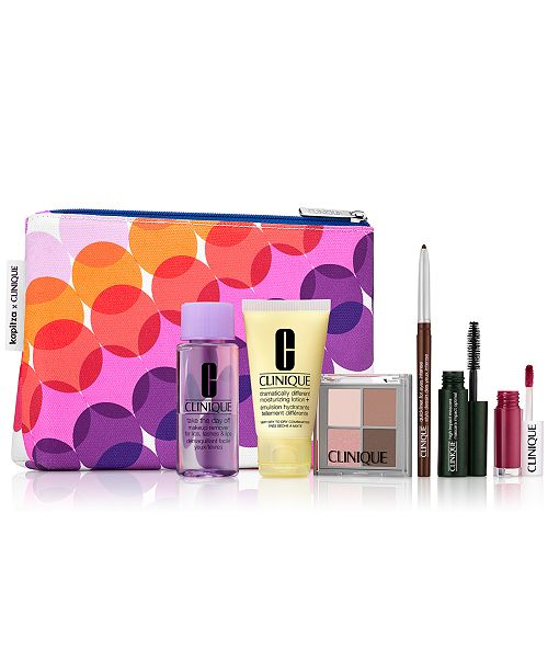 Clinique Receive your FREE 7pc gift with $29 Clinique Purchase! (a $77 value!