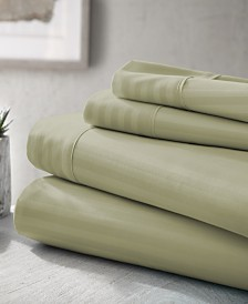 Expressed In Embossed by The Home Collection 3 Piece Bed Sheet Set, Twin
