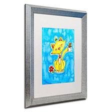 Jennifer Nilsson Kitty Love Matted Framed Art