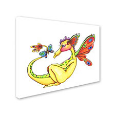 Jennifer Nilsson Cheerful - Dragon 10 Canvas Art