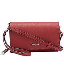Calvin Klein Leather Naomi Crossbody