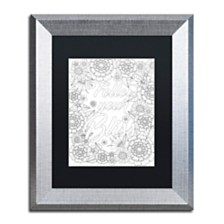 """Hello Angel Inspirational Quotes 15 Matted Framed Art - 16"""" x 20"""" x 0.5"""""""