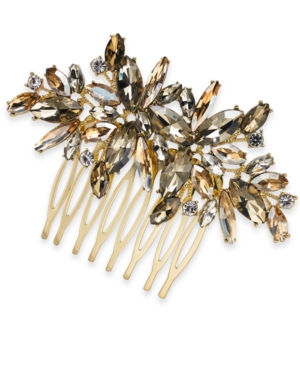 Vintage Style Jewelry, Retro Jewelry I.n.c. Crystal Hair Comb Created for Macys $8.76 AT vintagedancer.com