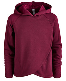 Ideology Big Girls Plus Tulip-Hem Hoodie, Created for Macy's
