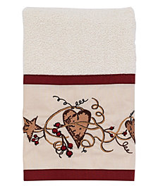 Avanti Hearts and Stars Hand Towel