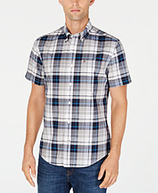 Tommy Hilfiger Men's Grimes Plaid Shirt, Created for Macy's