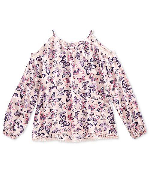 c7313f5a4cfa Epic Threads Big Girls Cold Shoulder Top   Reviews - Shirts   Tops ...