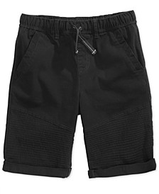 Big Boys Moto Twill Shorts, Created for Macy's