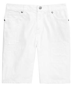 aab1058833d0 Epic Threads Big Boys White Denim Shorts, Created for Macy's