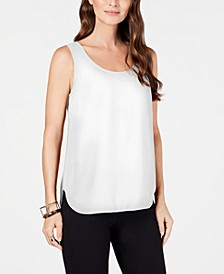 Sleeveless Scoop-Neck Blouse, Created for Macy's