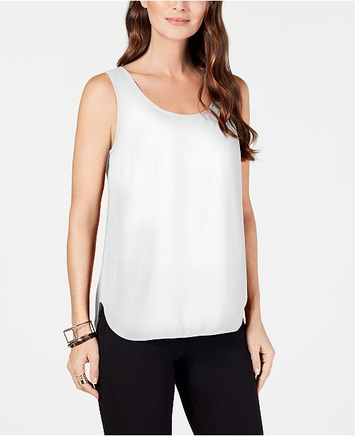 992d65da36140 ... Alfani Sleeveless Scoop-Neck Shell