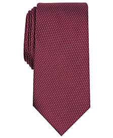 Perry Ellis Men's Glenwilton Classic Mini-Dot Check Tie