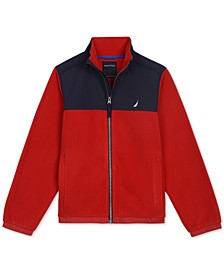 Little Boys Colorblocked Polar Fleece Jacket