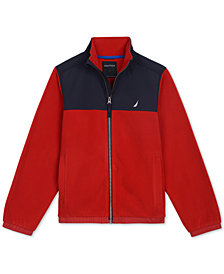 Nautica Big Boys Colorblocked Polar Fleece Jacket