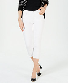 Charter Club Petite Petite Cropped Jeans, Created for Macy's