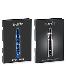Receive a FREE 2 pc Ampoule gift with $45 BABOR purchase!