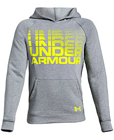 Under Armour Big Boys Rival Logo-Print Hoodie