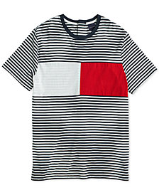 Tommy Hilfiger Adaptive  Men's Global Crewneck T-Shirt with Velcro® Closure at Back