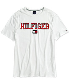 Tommy Hilfiger Adaptive Men's Collegiate Crew T-Shirt with Magnetic Closures